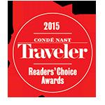 《悦游Condé Nast Traveler》 2015读者之选最佳酒店