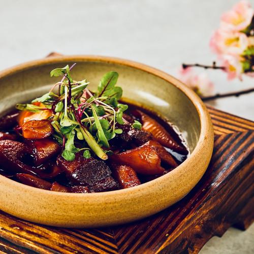 虾籽油焖笋烤肉