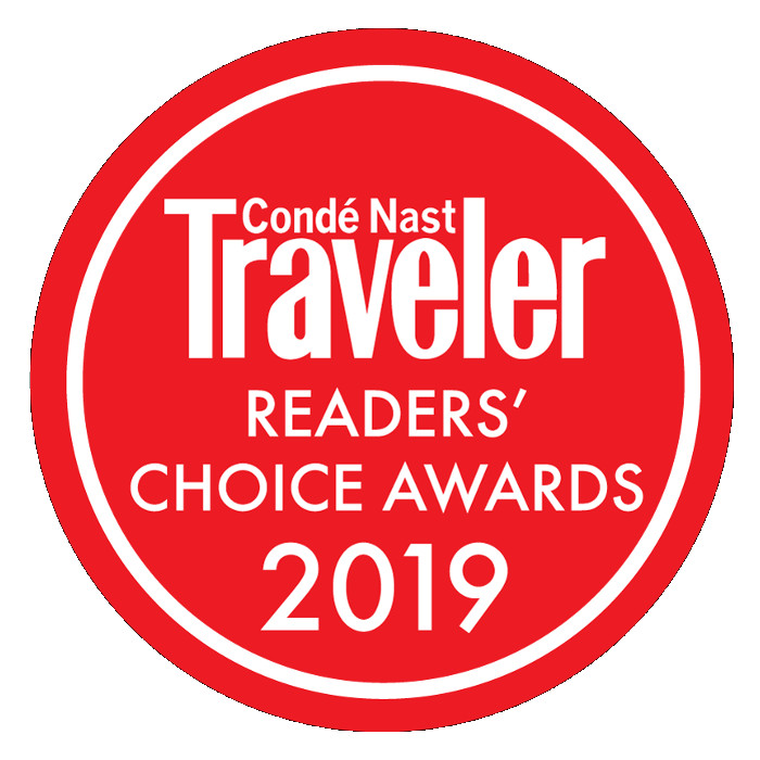 《Condé Nast Traveler》2019读者之选欧洲最佳度假酒店第16名